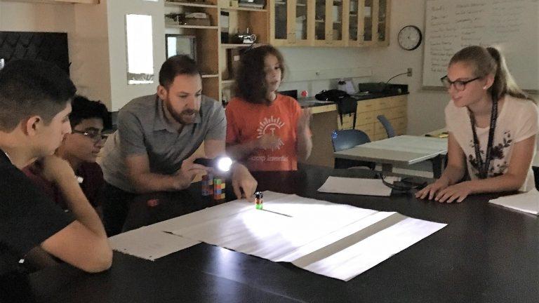 Jason Isaacs teaches the Geometry Edge one-week program