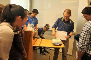 Jeremiah Johnston teaches the Biomedical Engineering three-week program