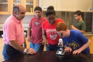 Rami Alwan teaches the Contagion one-week program