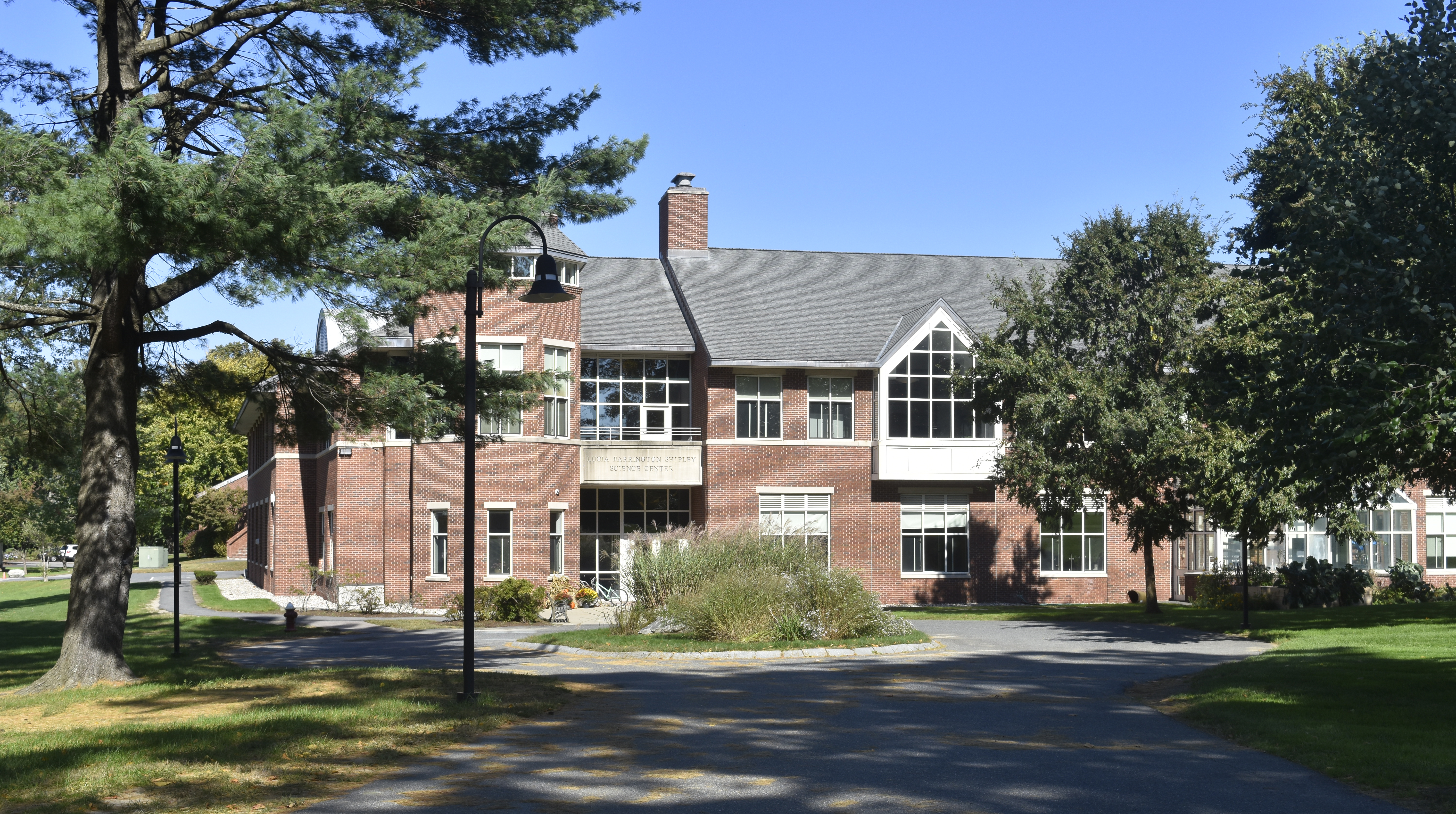 Science building in the Dana Hall campus