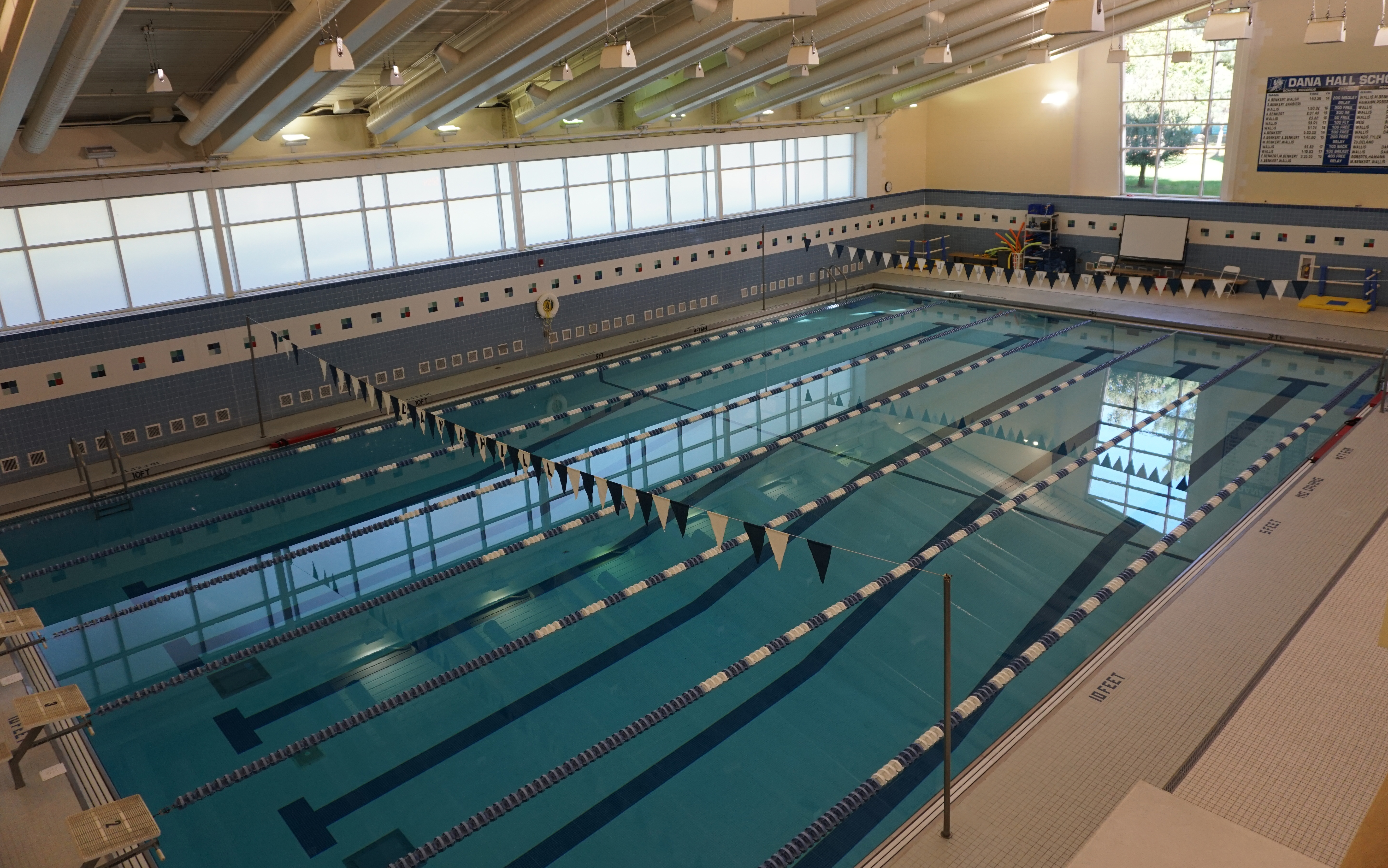 Pool in the Dana Hall gym