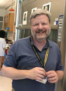 Jim Dixon teaches the Biological Research three-week program