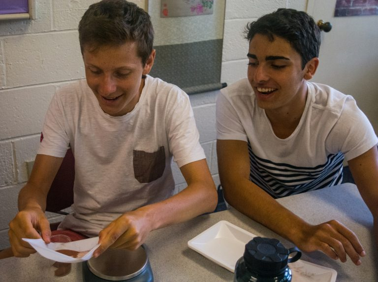 Students do research in Mars Mission three-week program