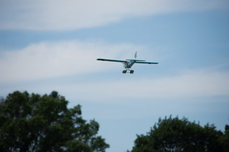 Students build and fly remote-controlled airplanes in the Applied Physics and Engineering three-week summer program