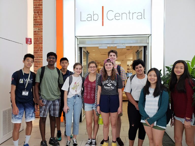 Students visit Labs in Boston in the Biotech and Pharma three-week summer program