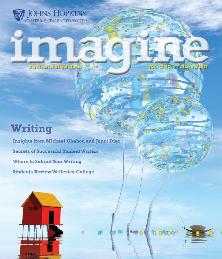 Cover of the March / April edition of the Imagine Magazine