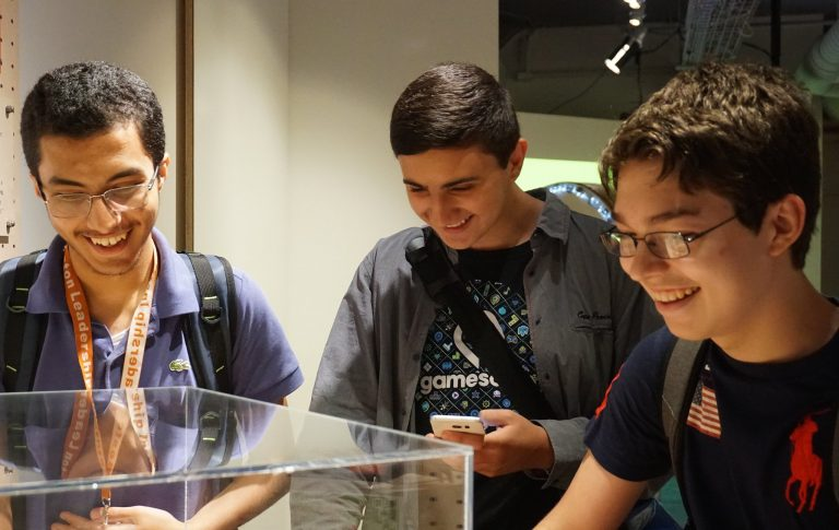 Students go on a field trip in the Chemistry Research three-week summer science program