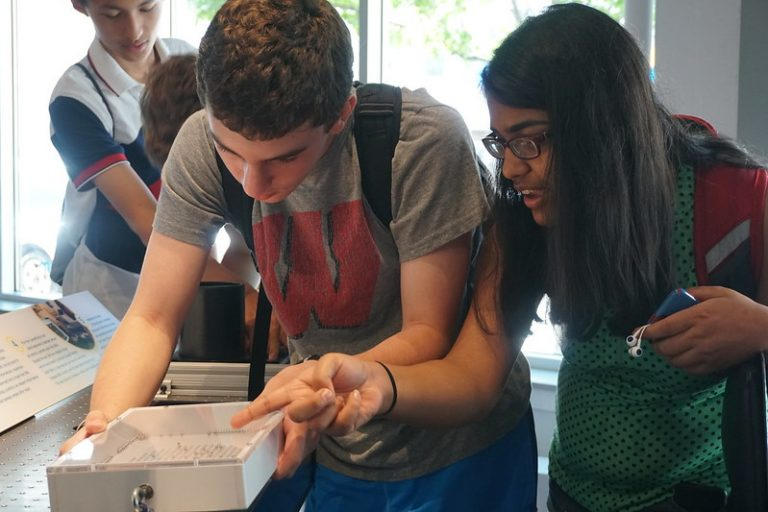 Students do research in the Chemistry Research three-week summer science program