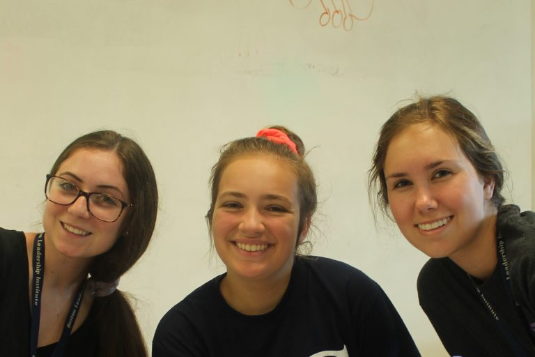 Students pose for a picture in the AP Biology Edge one-week summer program