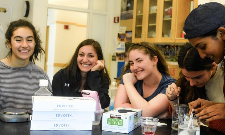 Students do research in the Human Genetics three-week summer science program