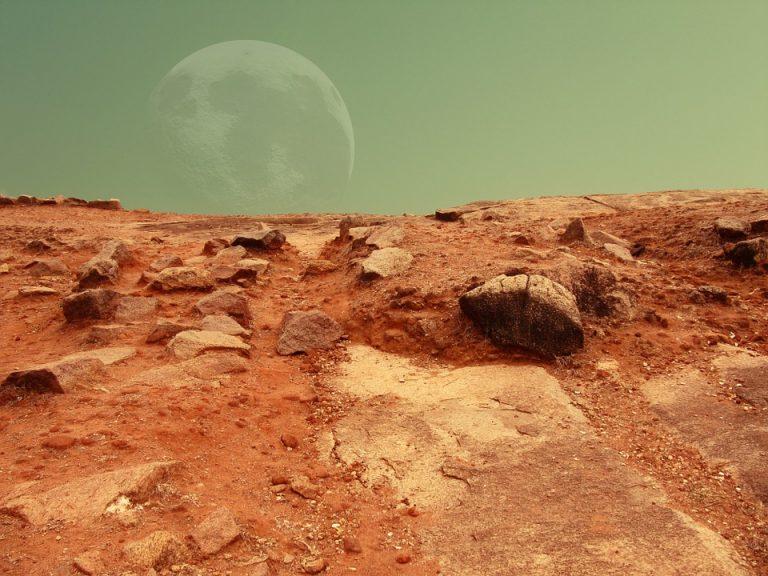 Mars Mission Photo