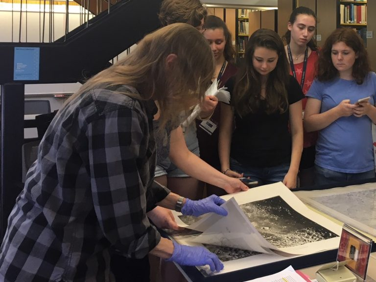 Students do research in the Physics of Space one-week summer science program