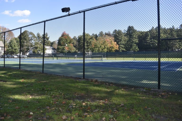 Tennis Courts at the Dana Hall School campus