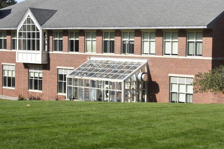 Greenhouse in the Dana Hall School campus