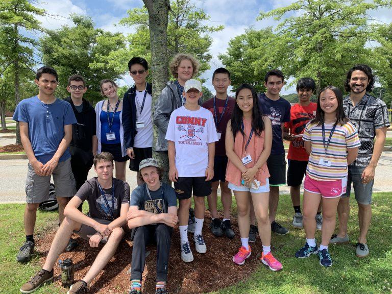 Students pose in the Social Entrepreneurship three-week summer business program